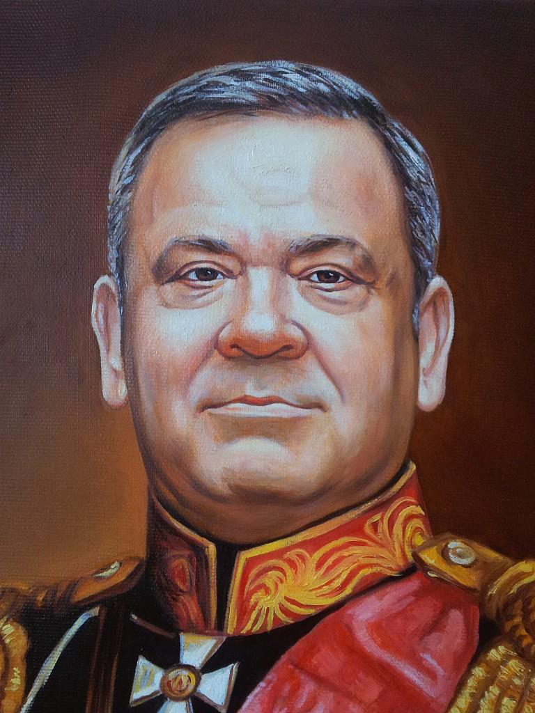 Портрет маслом на холсте в Калуге