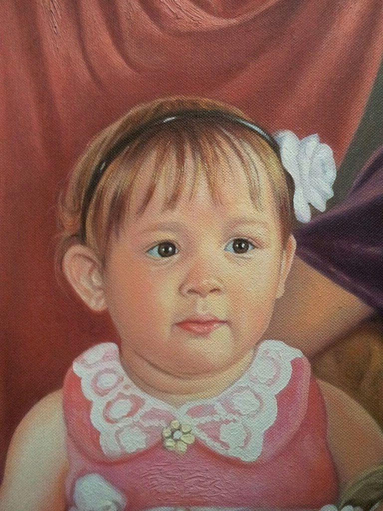 Портрет маслом семейный Калуга