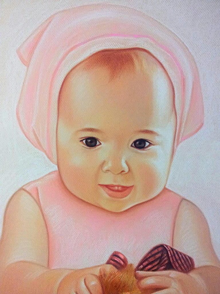 Детский портрет на заказ