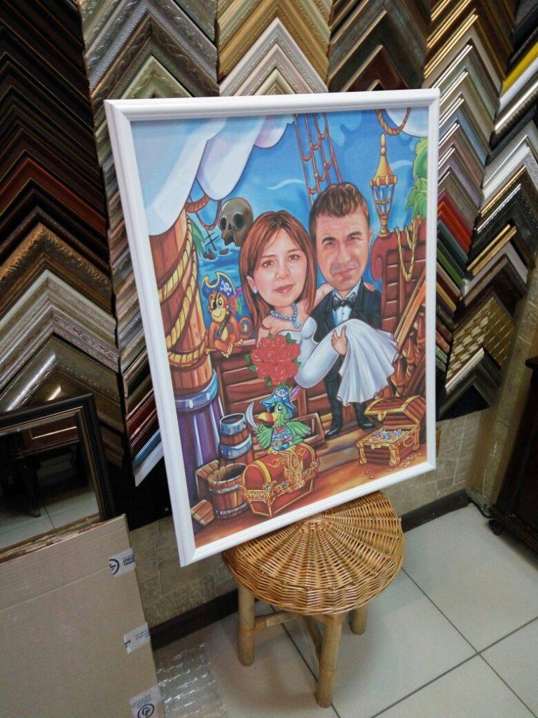 портрет шарж на заказ в Калуге
