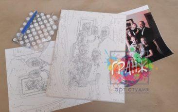 Картина по номерам по фото, портреты на холсте и дереве в Калуге
